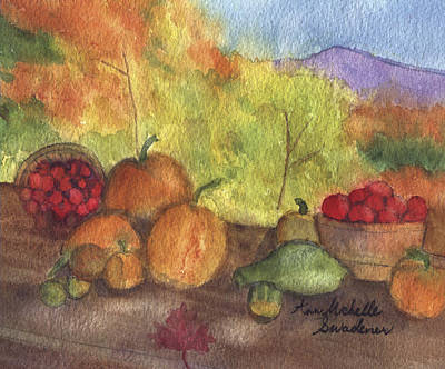 Fall Harvest Art Print