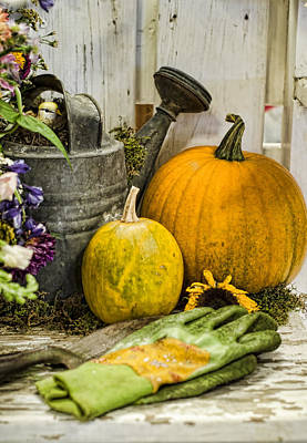 Fall Harvest Art Print by Heather Applegate