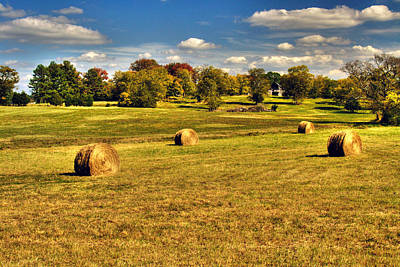 Photograph - Fall Harvest by Roger Passman