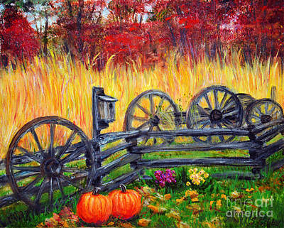 Fall Harvest Art Print by Savannah Gibbs