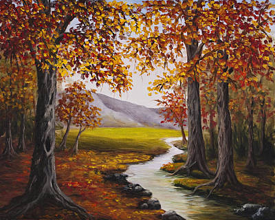 Painting - Fall Has Arrived  by Darice Machel McGuire