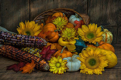 Photograph - Fall Has Arrived by Randy Walton