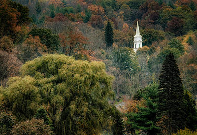 Photograph - Fall Hilltown by Fred LeBlanc