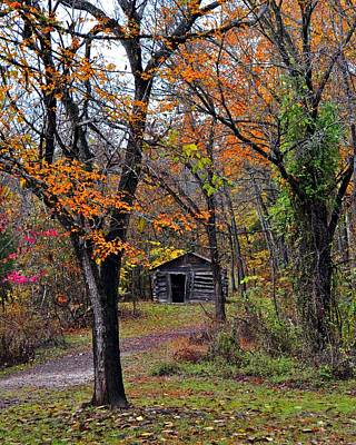 Photograph - Fall Homestead by Marty Koch