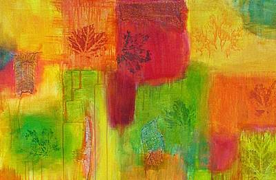 Painting - Fall Impressions by Angelique Bowman