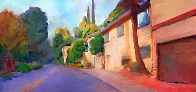 Fall In Benedict Canyon Original by Karen Sperling