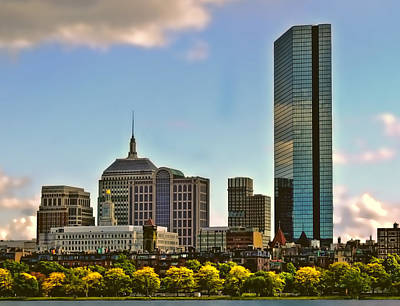 Photograph - Fall In Boston by Maria Coulson