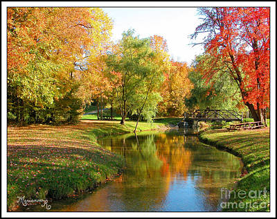 Photograph - Fall In Central New York by Mariarosa Rockefeller