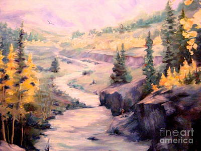 Painting - Fall In Colorado by Gretchen Allen