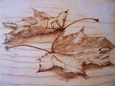 Fall In Art Print by Cynthia Adams