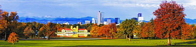 Fall In Denver Colorado Art Print