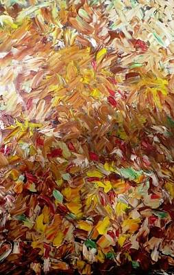 Painting - Fall In My Backyard by Ferid Sefer