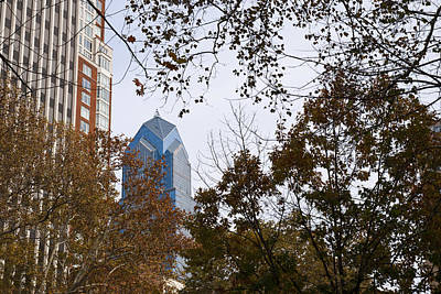 Photograph - Fall In Philly by Jennifer Ancker