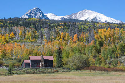 Art Print featuring the photograph Fall In Summit County by Andrew Serff