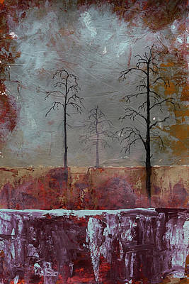 Asheville Artist Painting - Fall In The Air by Gray  Artus