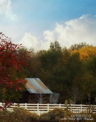 Photograph - Fall In The Country by Bobbee Rickard