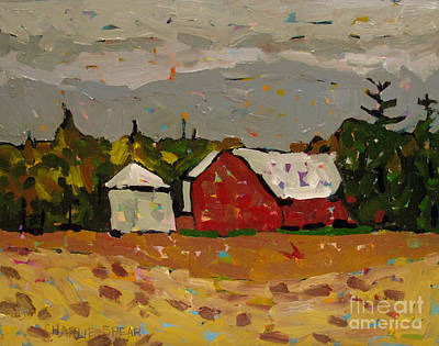 Change Painting - Fall In The Heartland by Charlie Spear