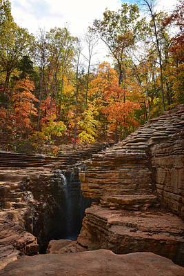 Photograph - Fall In The Ozarks by Linda Shannon Morgan