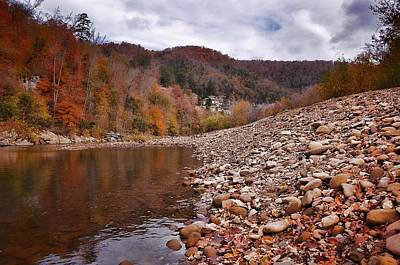Photograph - Fall In The Ozarks by Renee Hardison