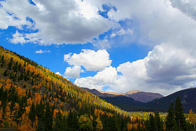 Photograph - Fall In The Rockies by Shane Bechler