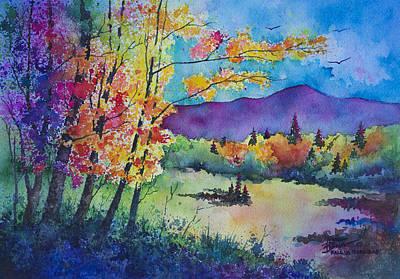 Fall In The Rockies Original by Michael Bulloch