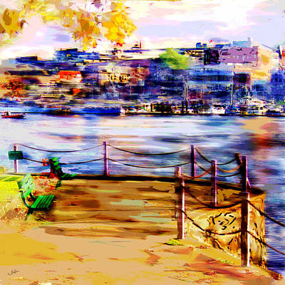Painter Digital Art - Fall In Victoria by Dale Stillman