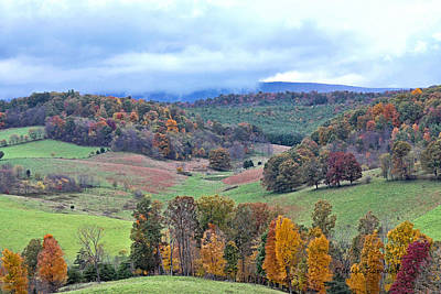 Photograph - Fall In Virginia by Denise Romano