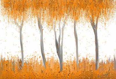 Fall Art Print by Kume Bryant