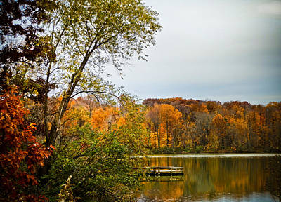 Photograph - Fall Lake by Connie Dye