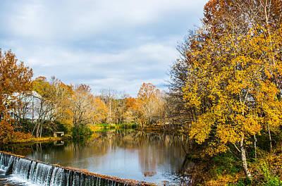 Photograph - Fall Landscape At Buck Creek by Parker Cunningham