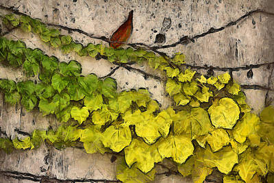 Photograph - Fall Leaves I by Brian Davis