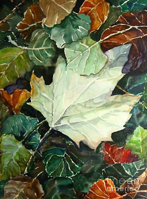Fall Leaves Art Print by Jennifer Apffel