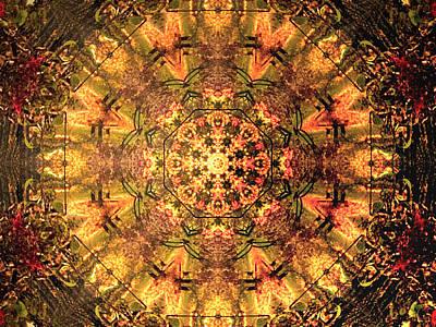 Fall Mandala Art Print by Dagmar Batyahav