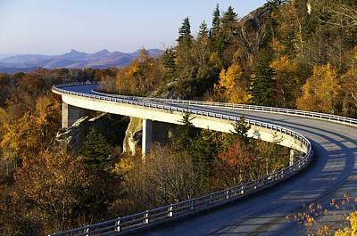 Photograph - Fall Morning On The Viaduct by Lynn Bauer