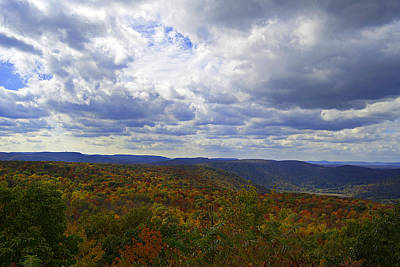 Photograph - Fall Mountain Colors by Elsa Marie Santoro