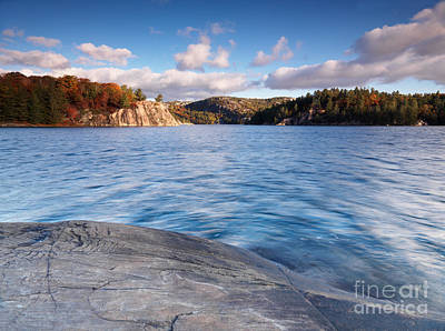 Fall Photograph - Fall Nature Landscape At Killarney Ontario by Oleksiy Maksymenko