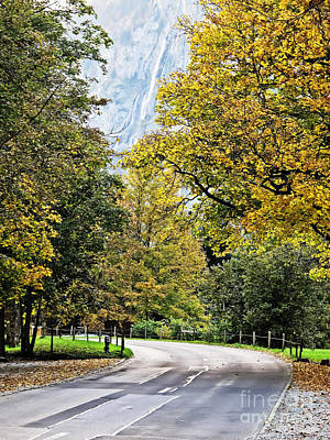 Photograph - Fall Near Interlaken by Elvis Vaughn