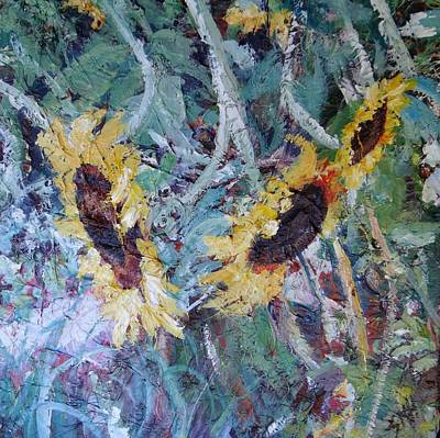 Painting - Fall Of Summer by Sheila Holland