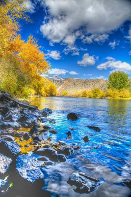 Art Print featuring the photograph Fall On The Big Hole River  by Kevin Bone