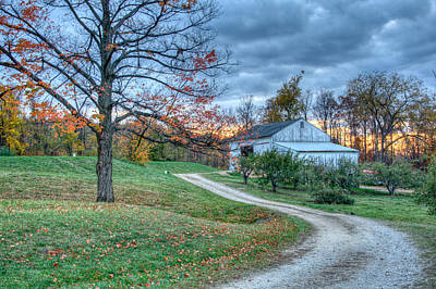 Fall On The Farm Art Print by Brent Durken