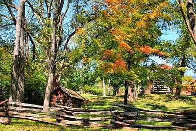 Asheville Photograph - Fall On The Farm by Carol R Montoya