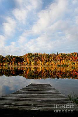 Photograph - Fall On The Lake by DJ Florek