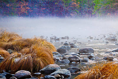 Sierra Nevada Fall Colors Photograph - Fall On The Merced by Bill Gallagher