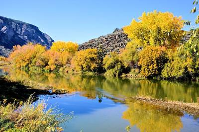 Fall On The Rio Grande Art Print