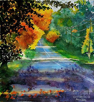 Painting - Fall Path by Marisa Gabetta