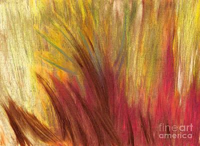 Fall Prairie Grass By Jrr Original