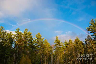 Photograph - Fall Rainbow by Cheryl Baxter