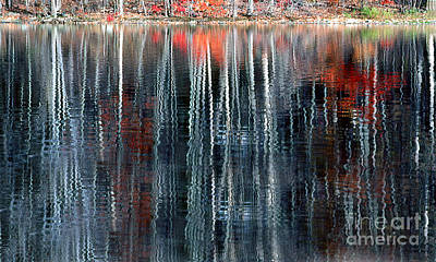 Fall Reflection 1 Art Print by Rich Killion