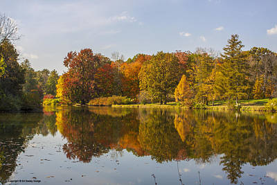 Photograph - Fall Reflections by Ed Dooley