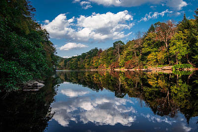 Photograph - Fall Reflections II by Anthony Thomas